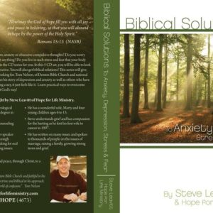 Biblical Solutions to Anxiety and Depression